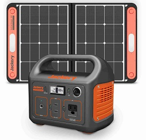 Jackery Solar Generator 240 with 60W SolarSaga Charger