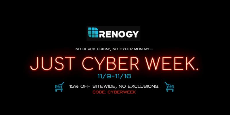 Renogy Black Friday Sale