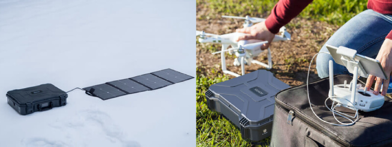 Montek X-1000 Solar Generator