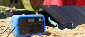 Bluetti AC30 Solar Power Station: Baby Bluetti AC200P with 300Wh/300W Capacity
