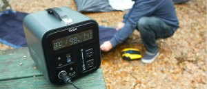 Gofort Portable Power Generator: Compact and Stylish Solar Power Station in 600W and 1000W Power Options