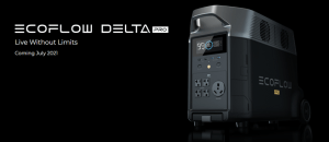 EcoFlow Delta Pro: Massive 3.6-25kWh, 3600-7200W Power Station in the Pipeline
