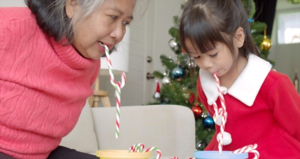 Having Fun With a Candy Cane Challenge