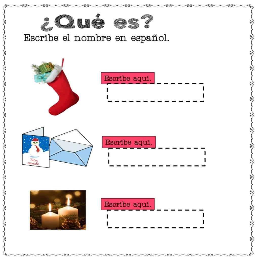 Spanish Christmas La Navidad Drive Activities And