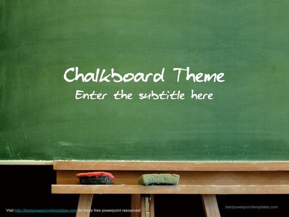 Chalkboard template free for Chalkboard powerpoint templates free download