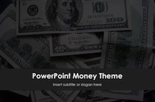 Money PowerPoint template - free