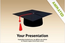 Graduation PowerPoint template - free PPT file
