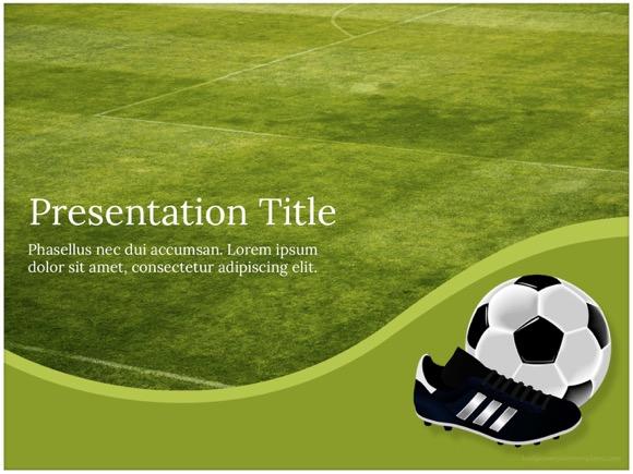 football template - free!, Modern powerpoint