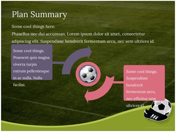 Football powerpoint template insrenterprises football powerpoint template toneelgroepblik Images
