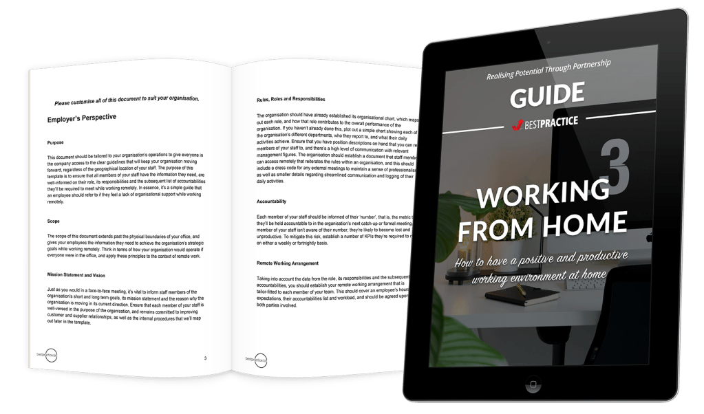 Free Guides - Working From Home