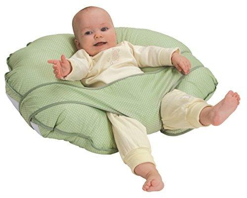41KDswStEJL - Leachco Cuddle-U Nursing Pillow and More, Sage Pin Dot