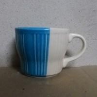 แก้วกาแฟสีน้ำเงิน