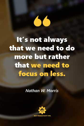 productivity quotes for success