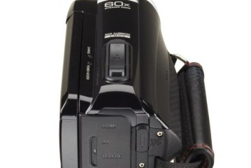 JVC HD Everio GZ-RX110BE Camcorder  Review