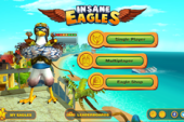 Insane Eagles Mobile Game Tests Flying, Collecting, and Shooting…