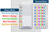 HomeSeer's Smart Switches Change Color When Things Happen
