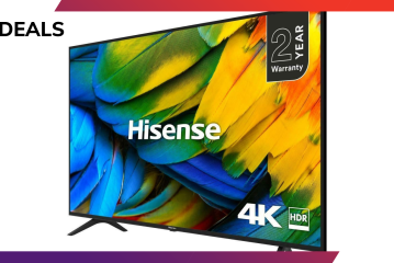 """Get a 55"""" Hisense 4K TV for just £314.10 with this phenomenal deal"""