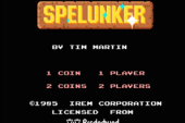 iiRcade Adding Cave Exploring Adventure Game, Spelunker