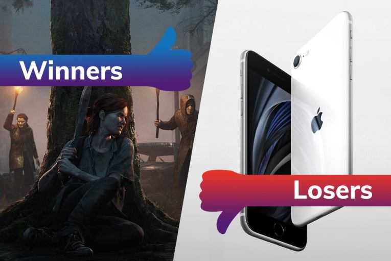 Winners and Losers: Last of Us 2 sets a new record, while iPhone SE 5G sees a major setback