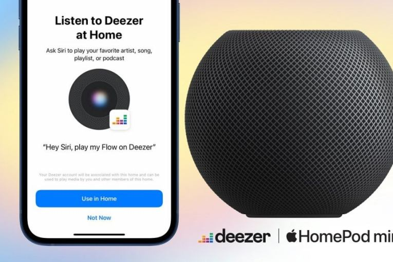 How to enable voice control for Deezer on Apple HomePod speakers