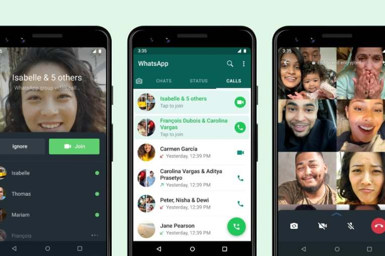 WhatsApp Joinable group calls means a missed call isn't a missed opportunity