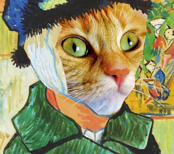 HTC's new VR exhibition improves upon classical paintings by adding cats
