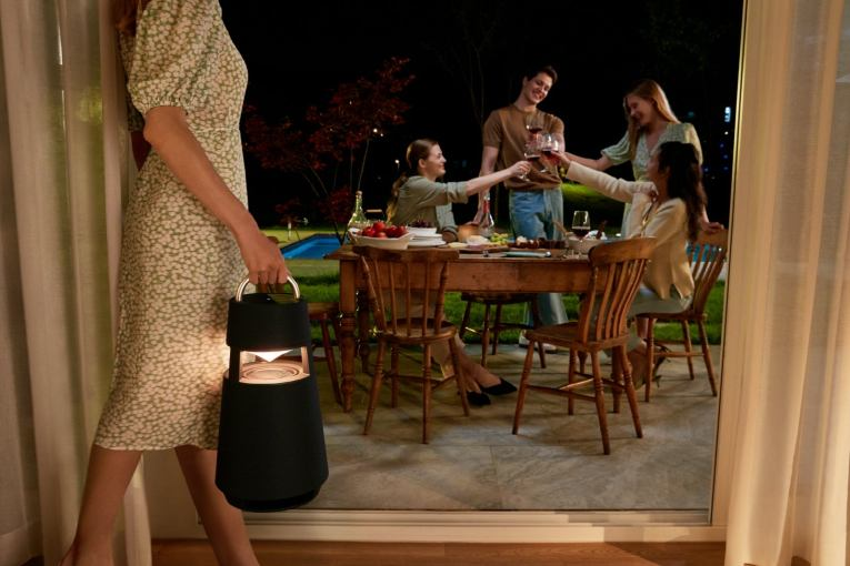 LG's XBOOM 360 is a powerful speaker disguised as a lantern