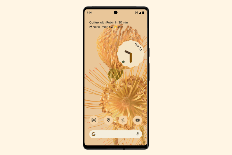 Android 12 dynamic wallpaper themes won't remain a Pixel exclusive