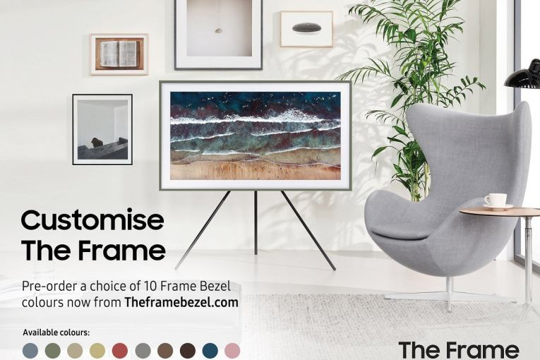 Samsung's new site offers customisations options for its Frame TV