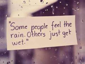 rainy quotes facebook profile pictures