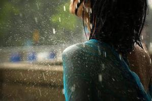Lonely Girl In Rain FB Profile Picture