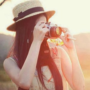 cool girls facebook profile pictures with camra