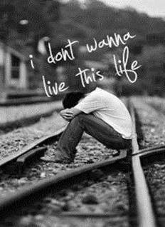Very Sad Alone Girl Hd Wallpaper Sad Boy In A Railway Track Facebook Profile Picture
