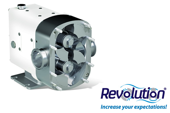Circumferential piston pump Revolution