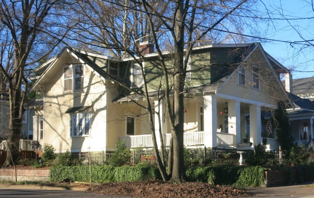 raleigh,inside-the-beltline,five points neighborhood, glenwood-brooklynWashington Street Across Glenwood from Bishop's Park,
