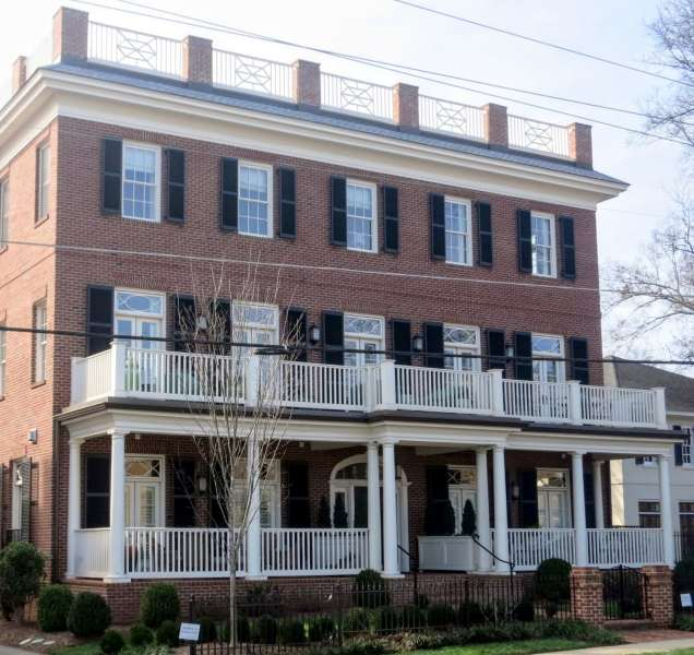 Five Points-Fairview Row. New Condminiums. Best Raleigh Neighborhoods, Inside The Beltline, Five Points