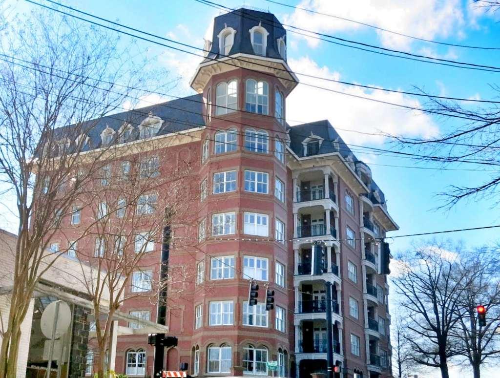 Bloomsbury Estates Condominium from Hargett St. Best Raleigh Neighborhoods, Downtown Raleigh,