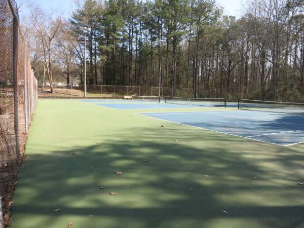 Tennis Courts, Eastgate Park, Best Raleigh Neighborhoods, Parks and Trails, Midtown