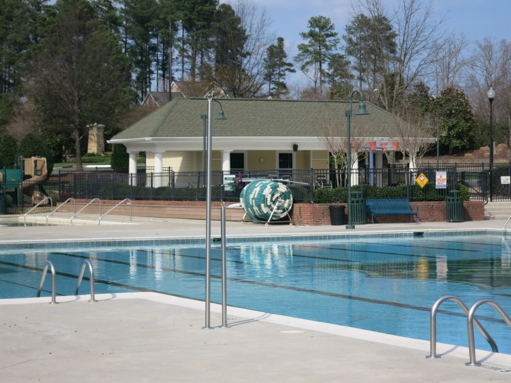Brier Creek Swimming Pool, Best Raleigh Neighborhoods, North Raleigh, Brier Creek