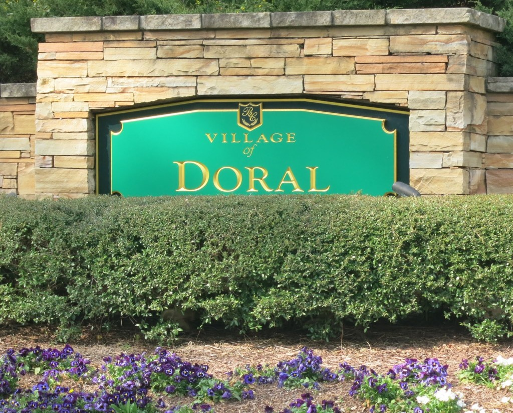 Village of Doral Entrance