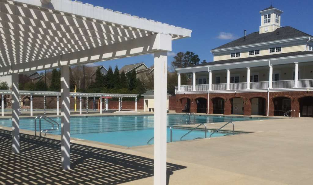 Bedford Swimming Pool, Best Raleigh Neighborhoods, North Raleigh, Bedford at Falls River