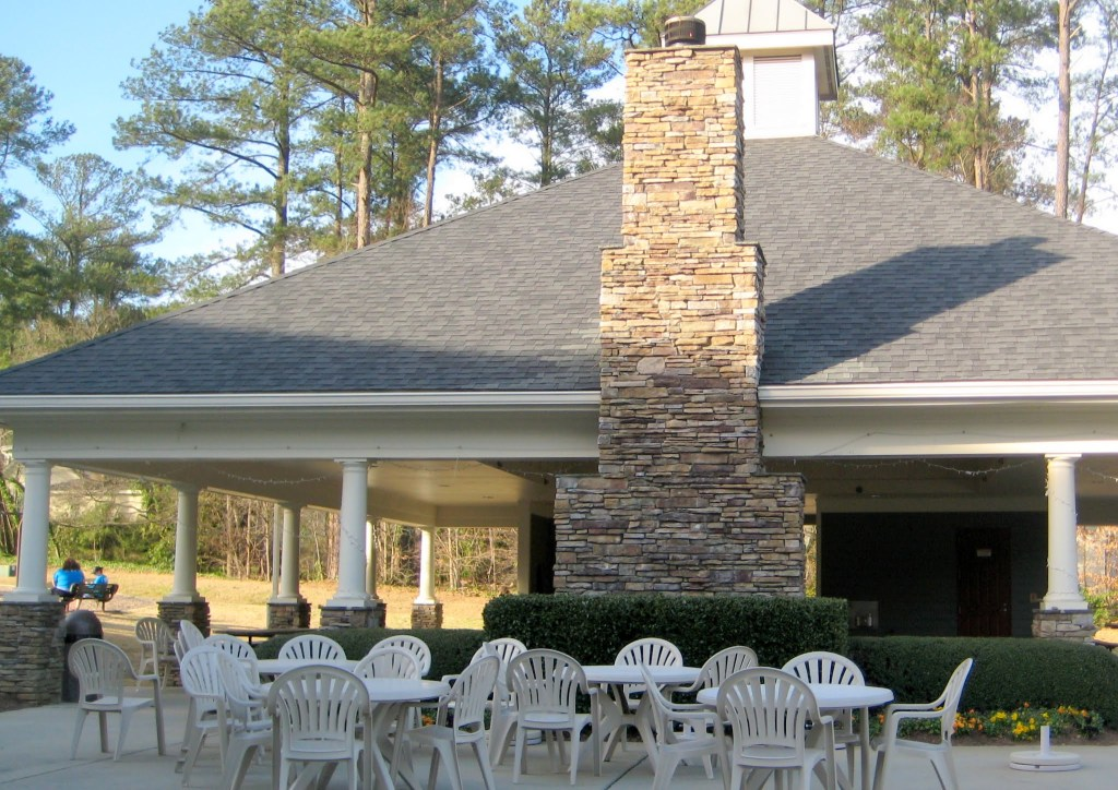 North Hills Club Outdoor Pavillion, North Hills Club, Best Raleigh Neighborhoods, Midtown, North Hills