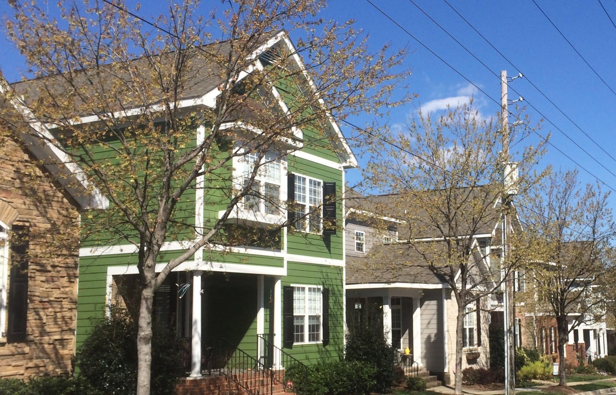 1218 N. Blount St. (Green House) , Mordecai Neighborhood, Best Raleigh Neighborhoods, Inside-the-Beltline, Mordecai