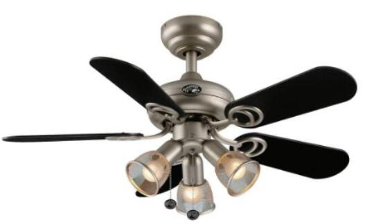 kitchen ceiling fans aid stoves 5 best for kitchens air hampton bay san marino 36 inch brushed steel fan