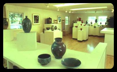 Ben Owen III Showroom at his home/Gallery in Seagrove NC