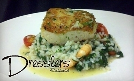 Dressler's Restaurant, one of the best in Lake Norman
