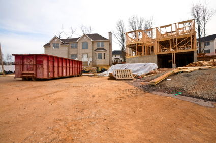 Lake Norman home under construction