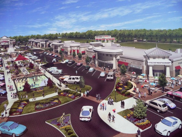 Mooresville Town Square Rendering