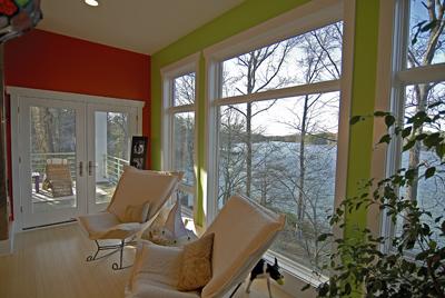 Lake Norman green waterfront home