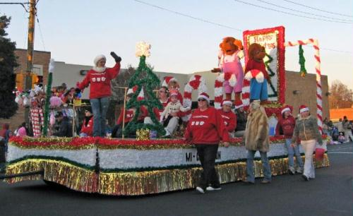 Mooresvillle's Christmas Parade